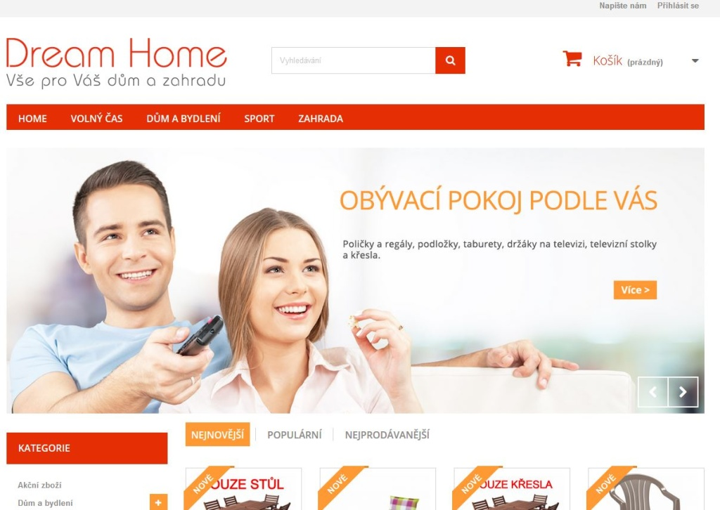 Dream-Home.cz - Prestashop
