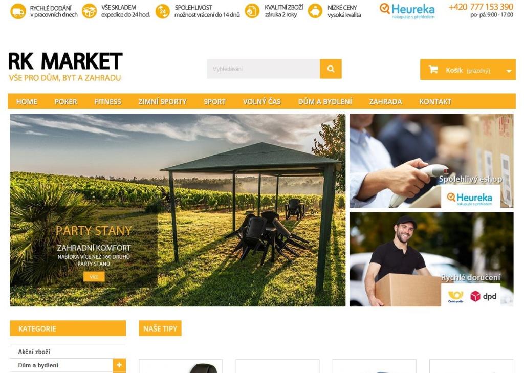 RK-market.cz - Prestashop