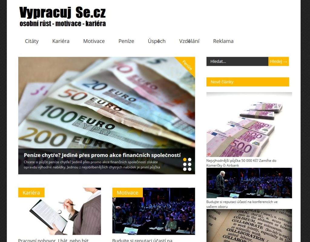 VypracujSe.cz - WordPress